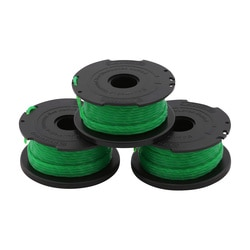 Black and Decker - Replacement Spool  Line 6M 2mm Pack of 3 - A6486
