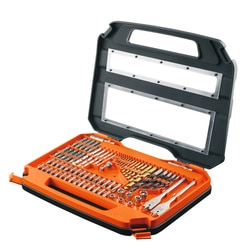 Black and Decker - 75 Piece Drill and screwdriving set - A7153