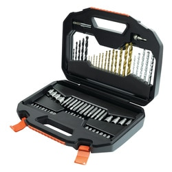 Black and Decker - Screwdriving  Drilling Set in Premium Case - A7184