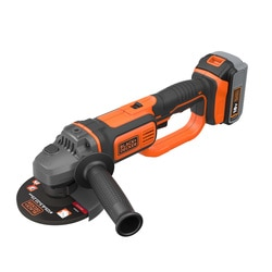 Black And Decker - 18V 40Ah LithiumIon Cordless Angle Grinder - BCG720M1