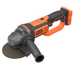 Black and Decker - 18V LithiumIon Cordless Angle Grinder with a Protective cover - BCG720N