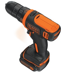 Black and Decker - 108V Ultra Compact Lithiumion Drill Driver - BDCDD12