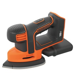 Black and Decker - 18V Lithiumion Cordless Mouse Detail Sander Without Battery - BDCDS18N