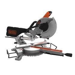 Black and Decker - 1600W 216mm Single Bevel Slide Mitre Saw - BES700