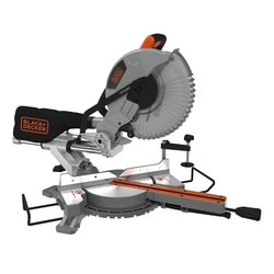 Black and Decker - 2100W 10 Sliding Compound Mitre Saw - BES710