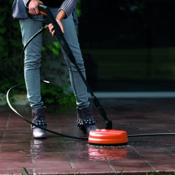 Black and Decker - 1600W High Pressure Washer with Mini Patio Cleaner and Fixed Brush - BXPW1600PE