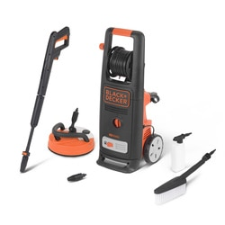 Black And Decker - 2000W High Pressure Washer with Patio Cleaner Deluxe and Fixed Brush - BXPW2000PE