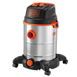 Black and Decker - 30L Wet and Dry Vacuum Cleaner with power tool connectivity - BXVC30XTDE