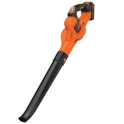 Black And Decker - 18V Lithiumion Cordless POWERCOMMAND Boost Leaf Blower without Battery - GWC1820PCB