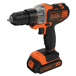 Black and Decker - 18V Multievo Multi tool with Drill driver attachment - MT218K