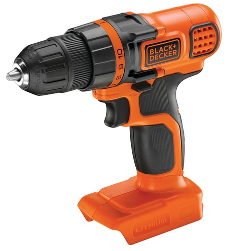 Black and Decker - 18V Lithiumion Cordless Drill Driver without battery and charger - BDCDD18N