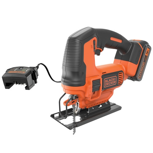Black and Decker - 18V Jigsaw with 15Ah battery 400mA Charger and 3 blades in a carton - BDCJS18C13