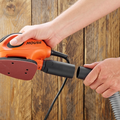 Black And Decker - 55W Mouse Detail Sander and 6 Sanding Sheets - BEW230