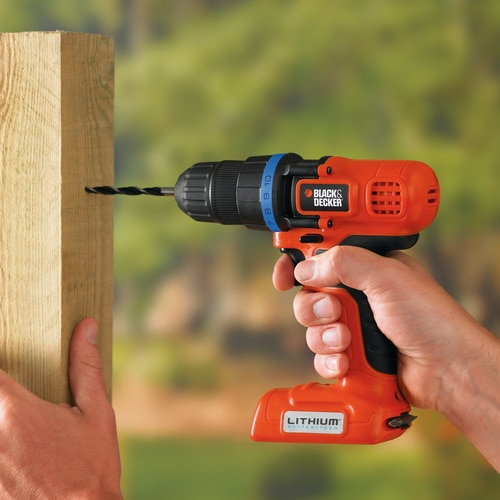 Black and Decker - 7V Lithiumion Compact Cordless Drill Driver - EPL7I