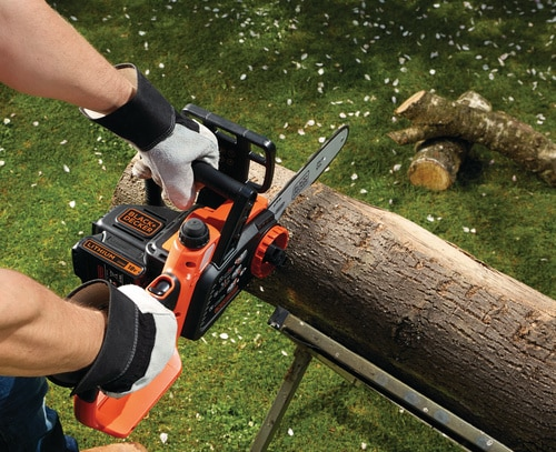 Black and Decker - 18V Lithiumion Cordless Chainsaw 25cm without battery - GKC1825LB