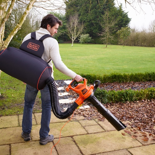 Black and Decker - 3000W Back Pack Blower Vac  Strap  Rake - GW3031BP