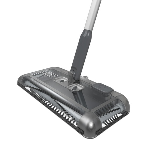 Black And Decker - 144Wh Lithiumion Floor Sweeper  Grey - PSA215B