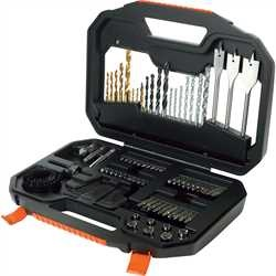 Black and Decker - Mixed Drilling  Screwdriving set in Premium Case - A7187