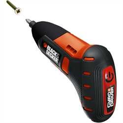 Black and Decker - Gyro Driver Gyroscopic Motion Sensing Screwdriver - BDCS361
