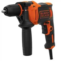 Black and Decker - 710W 1 Gear Hammer Drill - BEH710K