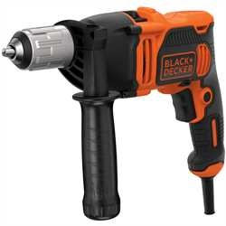 Black and Decker - 850W 1 Gear Hammer Drill - BEH850K