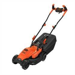 Black and Decker - 32cm 1200W Mower with Ergonomic Handle Design - BEMW451BH