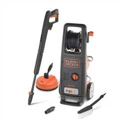 Black and Decker - 1700W High Pressure Washer with Mini Patio Cleaner and Fixed Brush - BXPW1700PE