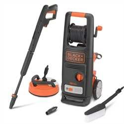 Black and Decker - 1900W High Pressure Washer with Patio Cleaner Deluxe and Fixed Brush - BXPW1900PE