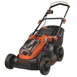 Black and Decker - 38cm 36V Lithiumion Cordless Lawn Mower with two batteries - CLM3820L2