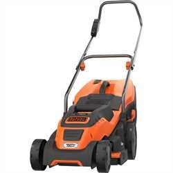 Black and Decker - 1600W 38cm Electric Lawn Mower with Compact and Go - EMAX38I