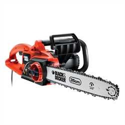 Black and Decker - 1900W Electric Chainsaw 35cm Bar 95ms - GK1935