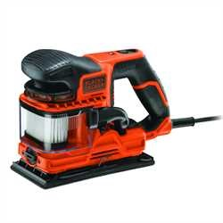 Black and Decker - DUOSAND 270W 13 sheet sander with kit box and accessories - KA330EKA