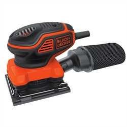 Black and Decker - 220W Paddle Switch Quarter Sheet Finishing Sander - KA450