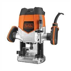 Black and Decker - 1200W 14 Router  5 Accessories - KW900E