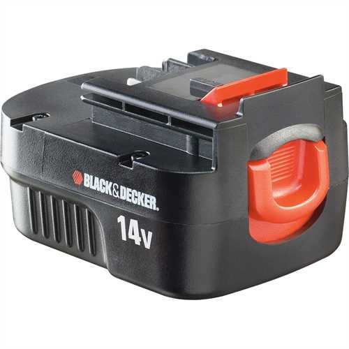 Black and Decker - 144V 15Ah NiCAD Battery - A14