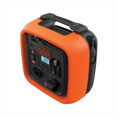Black and Decker - 12V Corded Inflator - ASI400