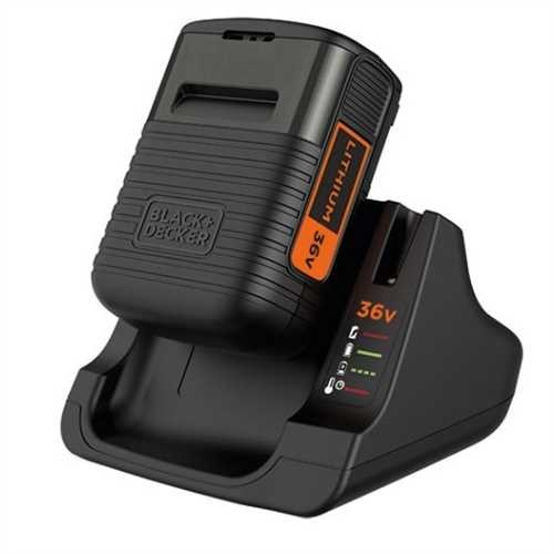 Black and Decker - 36V 20Ah Lithium Ion Battery  Charger - BDC2A36