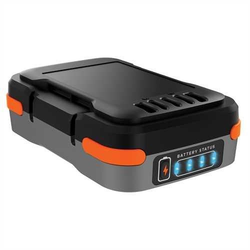 Black and Decker - 12V USB Charging 15Ah LiIon Battery and USB Charging cable - BDCB12B