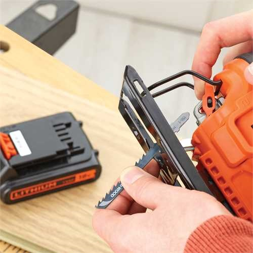 Black and Decker - 18V Lithiumion Cordless Pendulum Jigsaw without battery - BDCJS18N