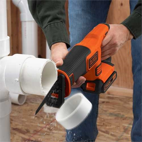 Black and Decker - 18V Lithiumion Cordless Reciprocating Saw without battery and charger - BDCR18N