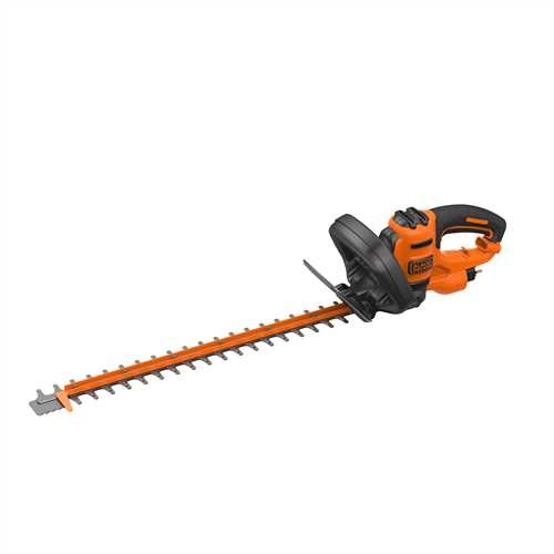 Black and Decker - 55cm 500W Hedge Trimmer with Saw Blade - BEHTS401