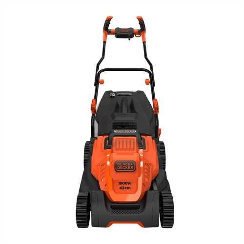 Black and Decker - 42cm 1800W Mower with Ergonomic Handle Design - BEMW481BH
