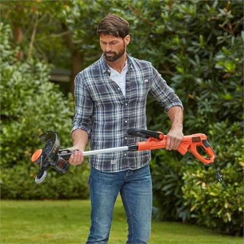 Black and Decker - 30cm 550W POWERCOMMAND Strimmer Grass Trimmer - BESTE630