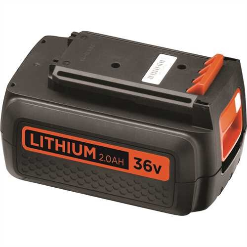 Black and Decker - 36V 20Ah Lithium Ion Battery - BL2036