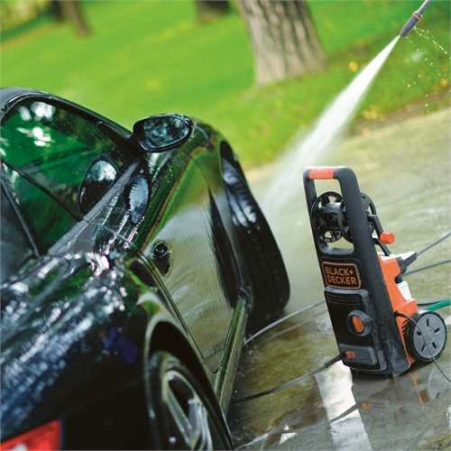 Black and Decker - 2200W High Pressure Washer with Patio Cleaner Deluxe and Fixed Brush - BXPW2200PE