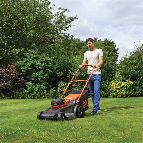 Black and Decker - 48cm 54V DUALVOLT Lithiumion Cordless Autosense Mower with 2 batteries - CLM5448PC2
