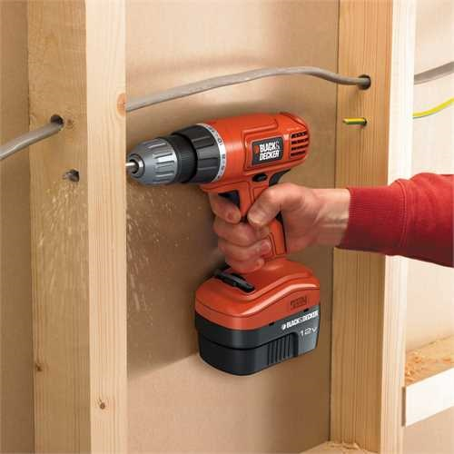 Black and Decker - 12V Cordless Drill Driver - EPC12CA