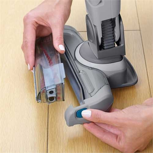 Black and Decker - 36Wh 2in1 Cordless dustbuster Hand Vacuum with Floor Extension and Smart Tech Sensors - FEJ520JF