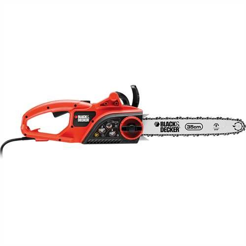 Black and Decker - 1900W Electric Chainsaw 35cm Bar 95ms - GK1935T