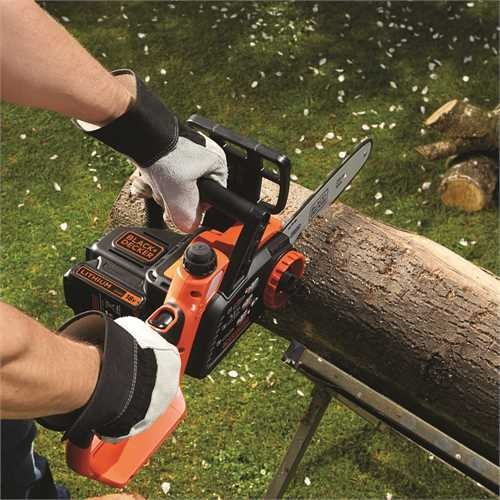 Black and Decker - 18V 20Ah Lithiumion Cordless Chainsaw 25cm - GKC1825L20